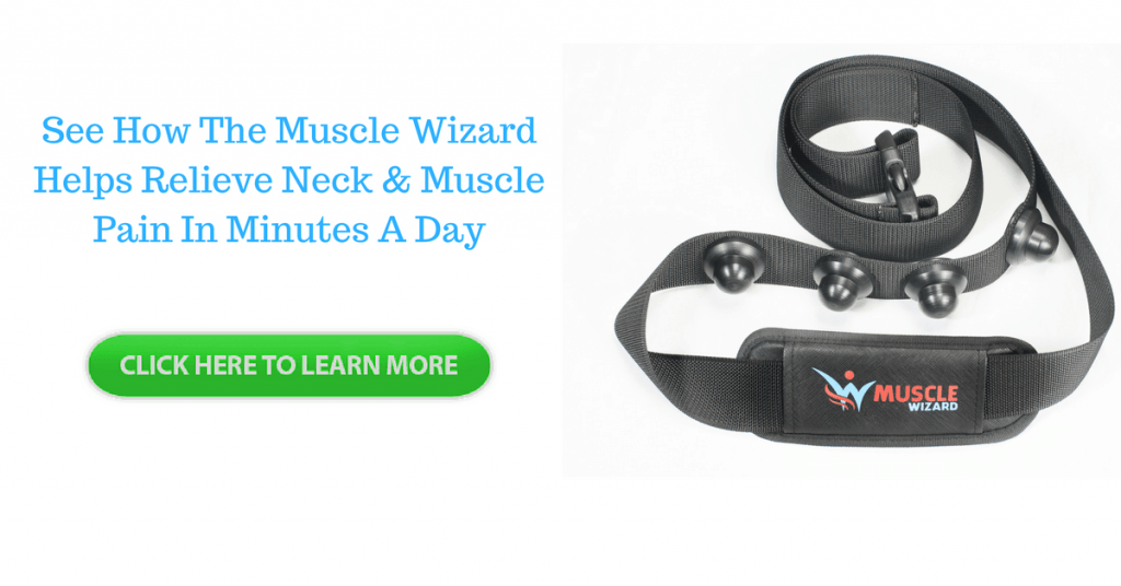 muscle wizard self massage trigger point tool