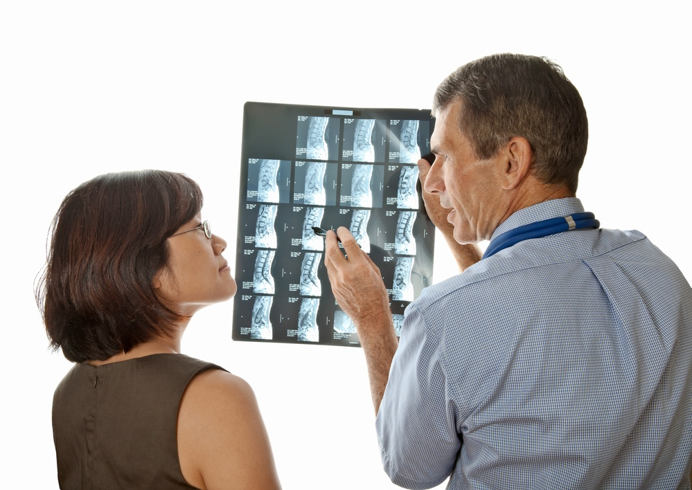 x-rays discussed with patient